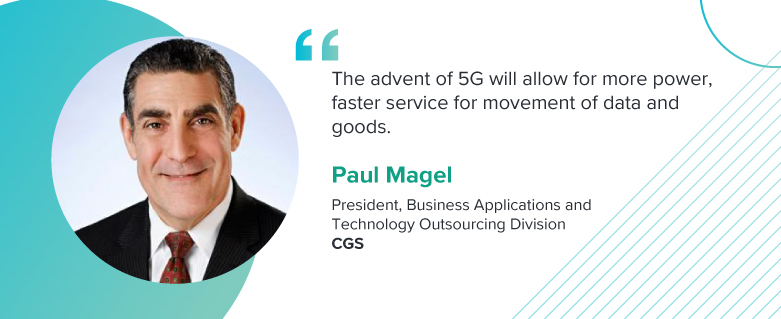 Paul Magel, President, Business Applications and Technology Outsourcing Division