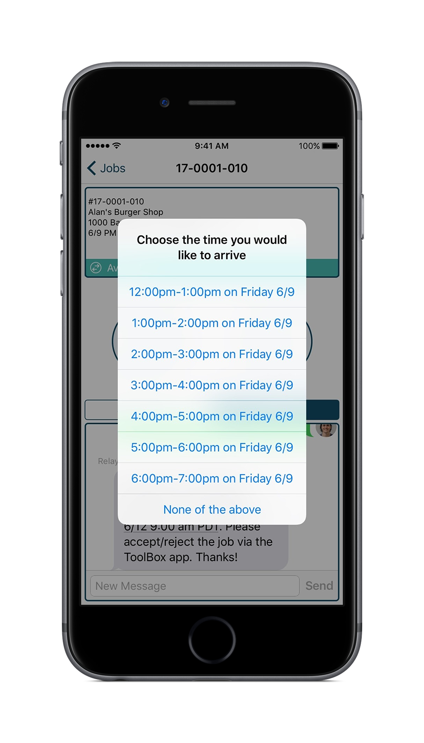 Relay Toolbox Job Scheduling