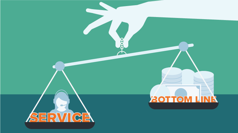 For many businesses, providing quality customer service is a balancing act.