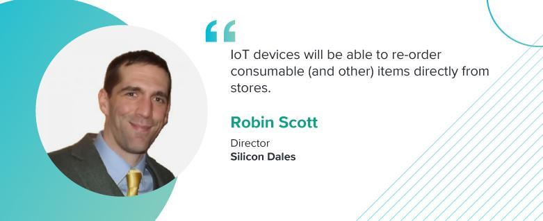 Robin Scott, Director at Silicon Dales