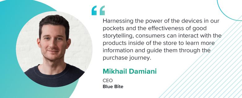 Mikhail Damiani, CEO of Blue Bite