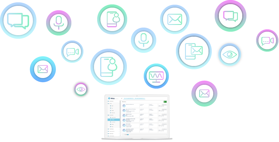 Omnichannel Icon Graphic