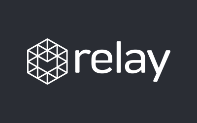Relay Logo White